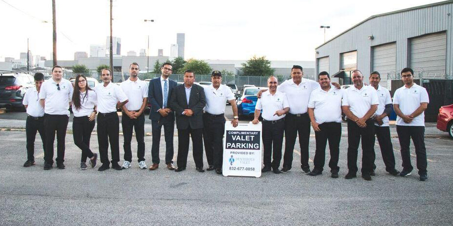 dexterous valet parking services team