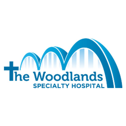 the woodlands hospital logo